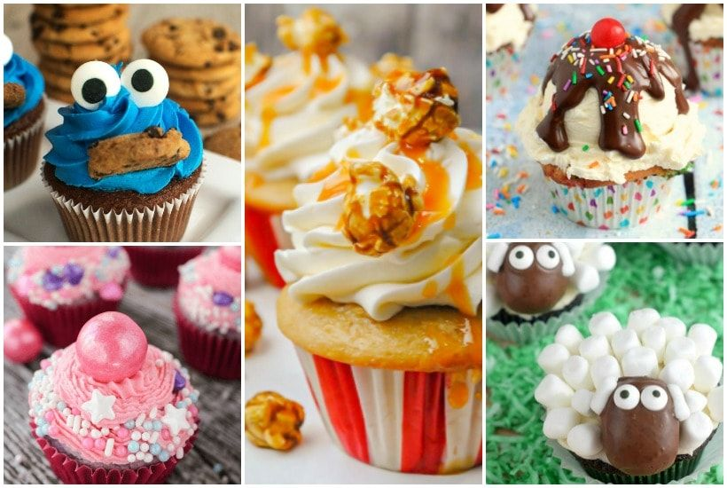 The Cutest Cupcakes for Kids - See Mama Go | Cupcakes, Fun ...