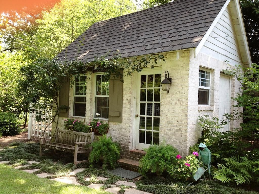 Pinterest Home All: Backyard Garden Shed Ideas