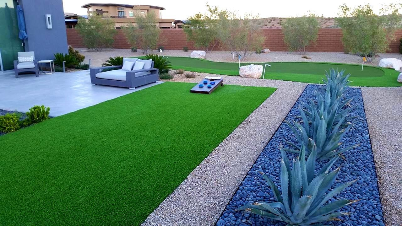 Top 20+ Most Beautiful Mid Century Modern Backyard Design ... on Modern Landscaping Ideas For Small Backyards  id=96278