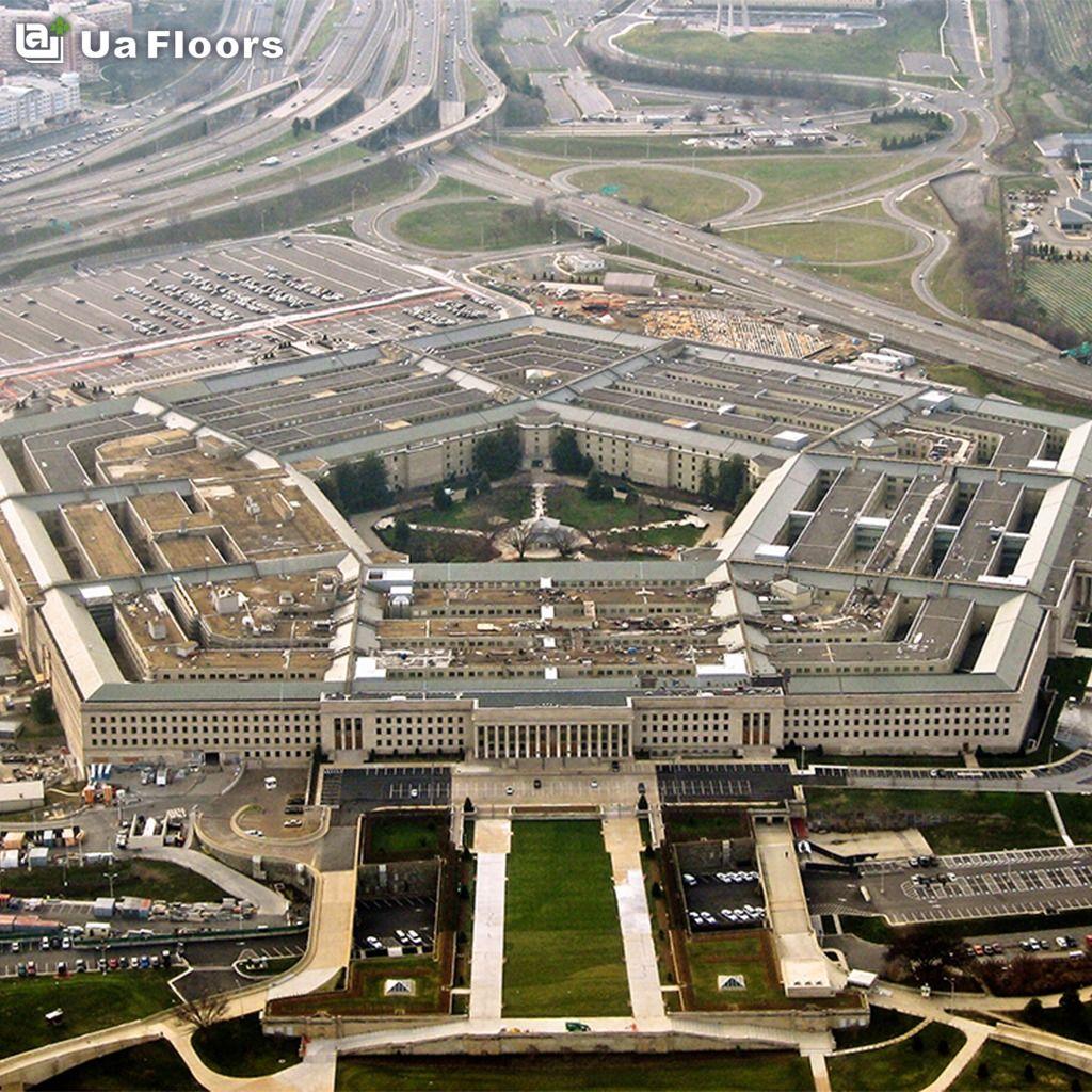 The Pentagon Is The Virginia Headquarters Of The U S Engineered Flooring Office Building Deconstruction