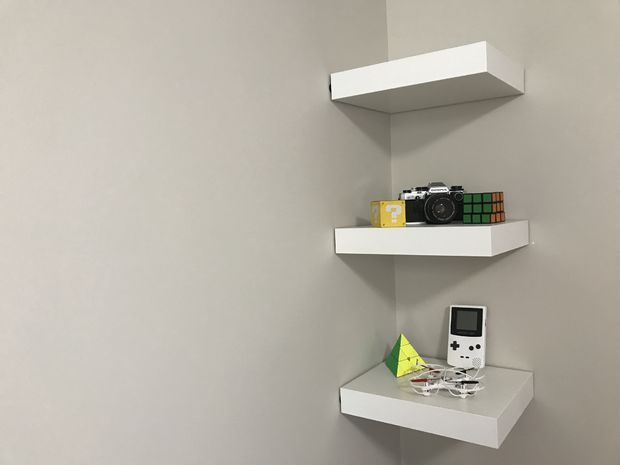 IKEA Lack Shelf Without Drilling or Nails | Ikea lack