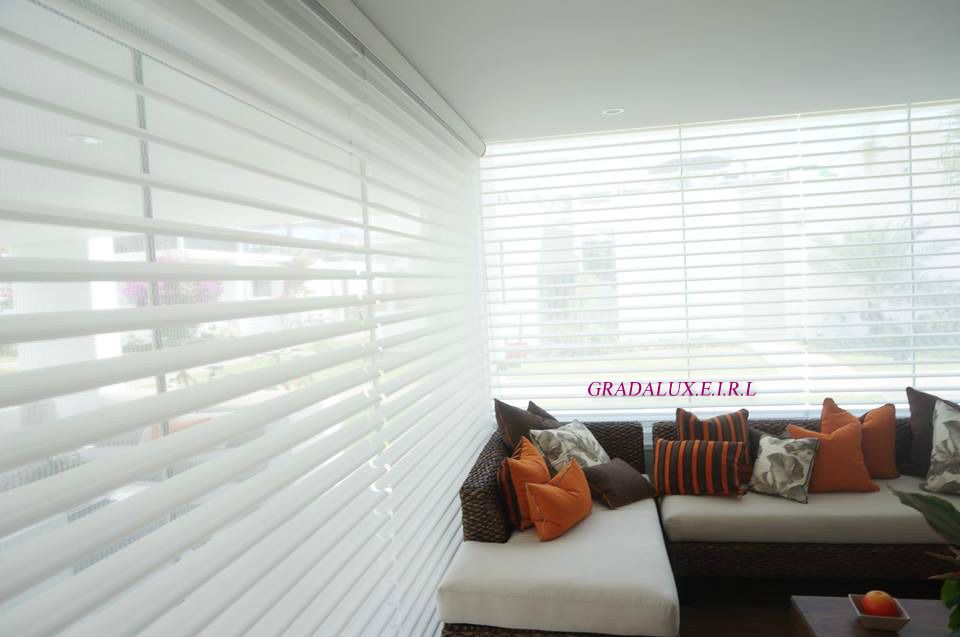 GRADALUX CORTINAS ROLLER MODELO SHANGRILA Cortinas roller Zebra - sichtschutz für badezimmerfenster