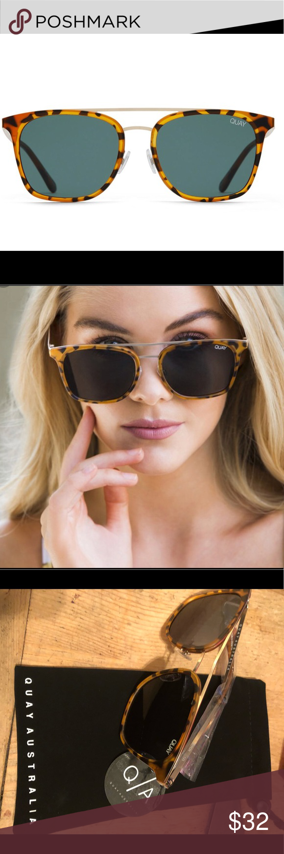f7a0839a96 Quay Australia Byron Pink Tortoise Sunglasses A new kind of master class. BYRON  combines the