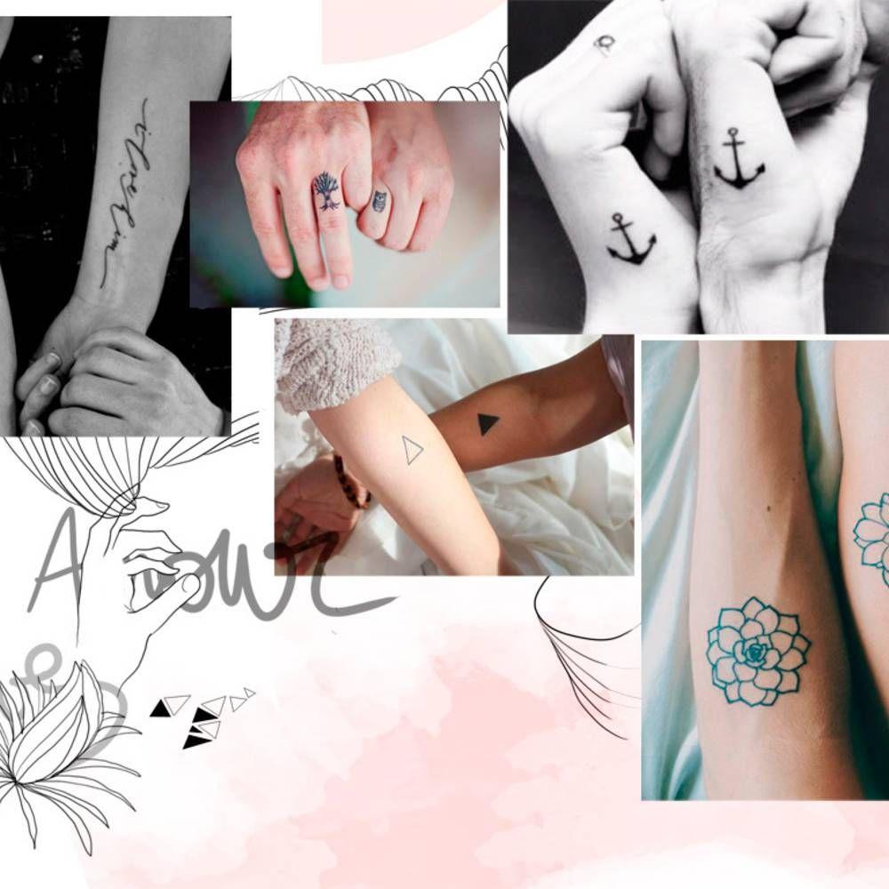 Tatouage a faire en couple deux coeurs qui se joignent pour nuen faire quuun with tatouage a - Tatouage a faire en couple ...