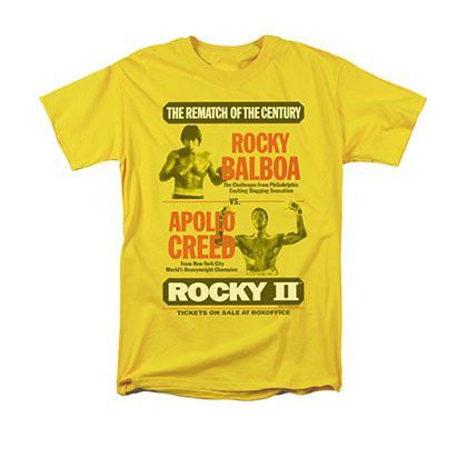 Rocky Balboa Italian Stallion Horse Head Men/'s T Shirt Boxing Fighter Legend Top