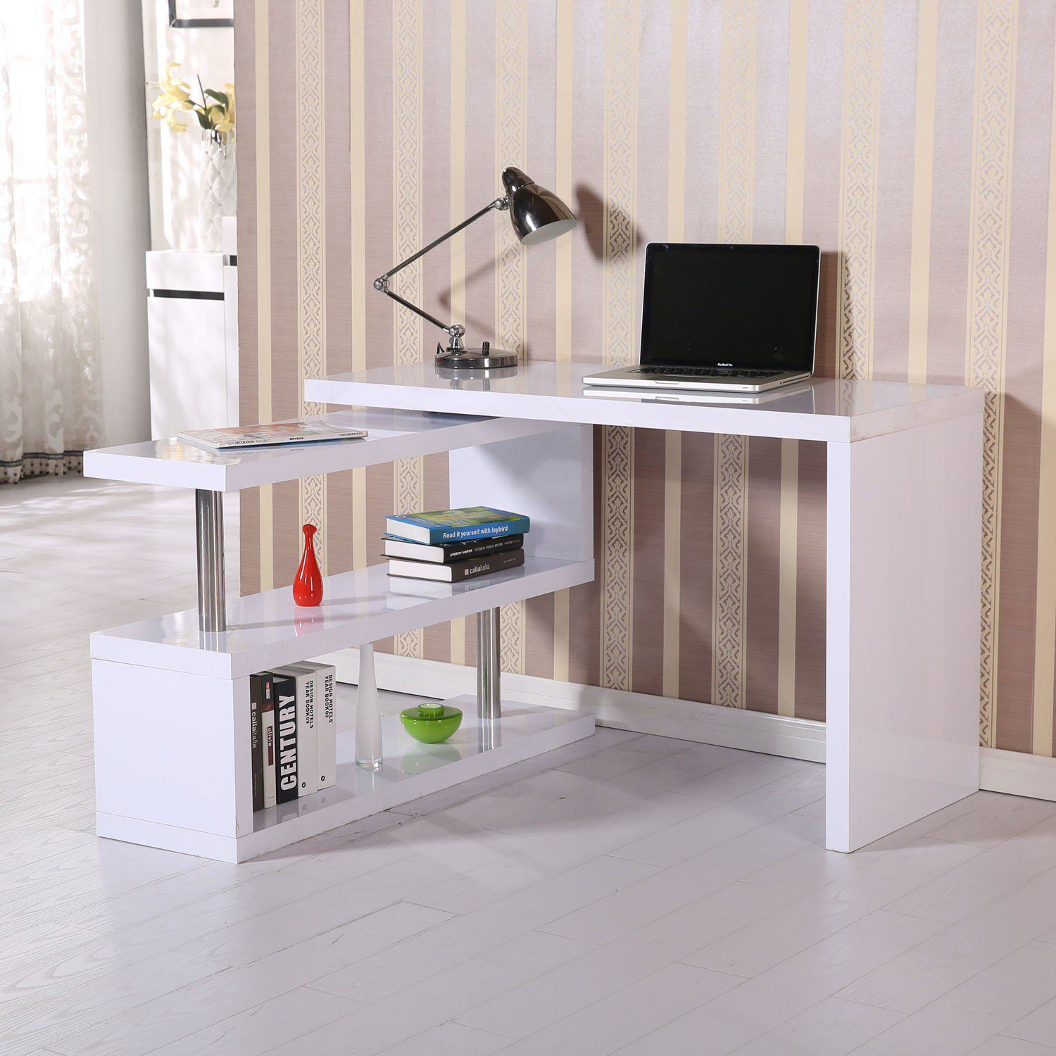 Pin By Freddy Siahaan Ttnt On Furniture Office Furniture Modern Home Office Furniture Desk Shelves