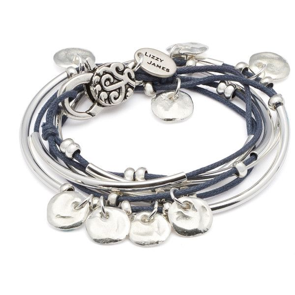 Lizzy James Journey in Cotton Cord Bracelet Necklace for Women (115 CAD) ❤ liked on Polyvore featuring jewelry, cord bracelet, dangling jewelry, braided cord bracelet, braided rope bracelet and rope bracelet