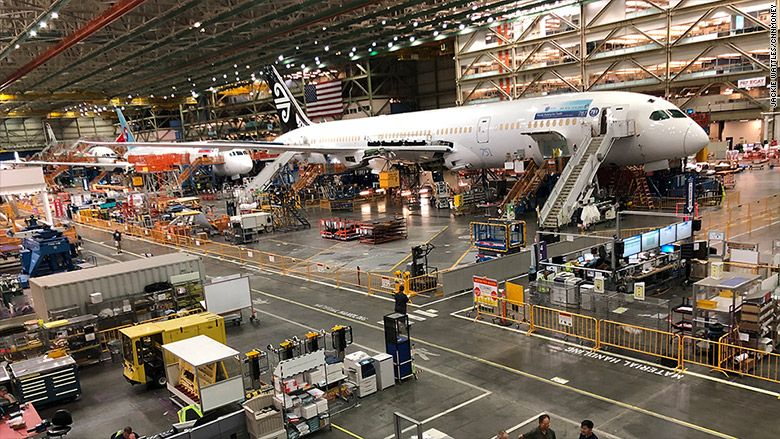 An Exclusive Tour Of The Gigantic Factory Where Boeing Jets Are