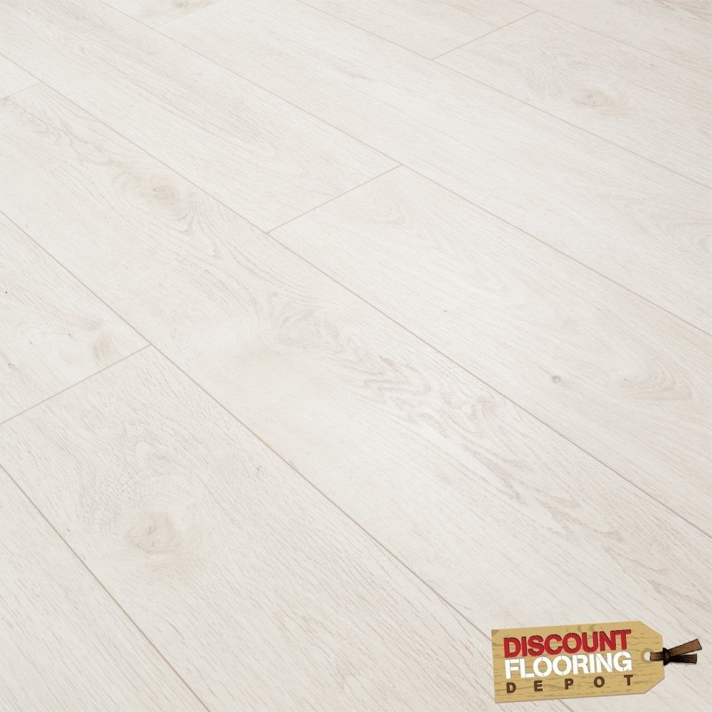 Luxury White Oak 8mm Premier Elite Laminate Flooring