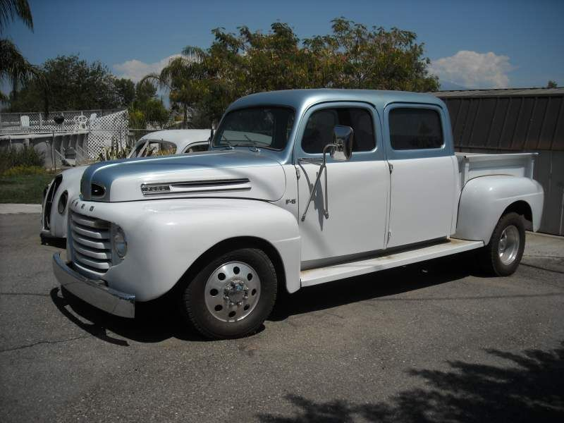 Crew Cab Trucks For Sale >> 1948 Ford Custom Double Cab Dually Pickup Truck Alex S Car S And