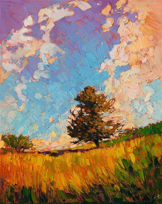 A Contemporary Masterpiece Of Light And Color By Modern Impressionist Erin Hanson Art Fine Art Impressionist Art