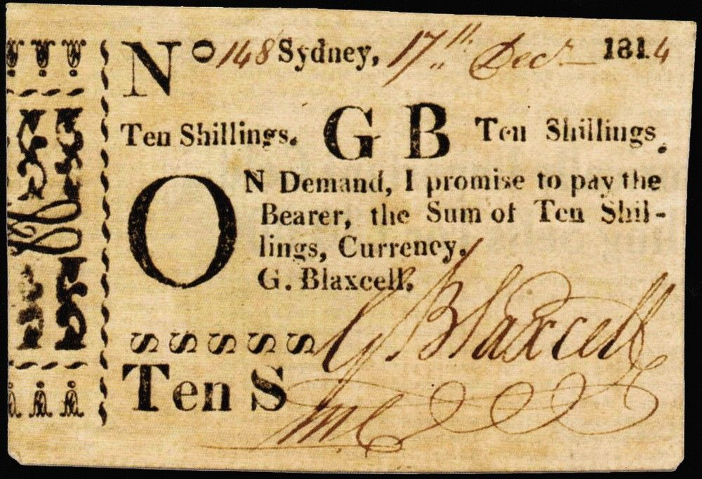 Australian Promissory Notes  The Numismatic Society Of South