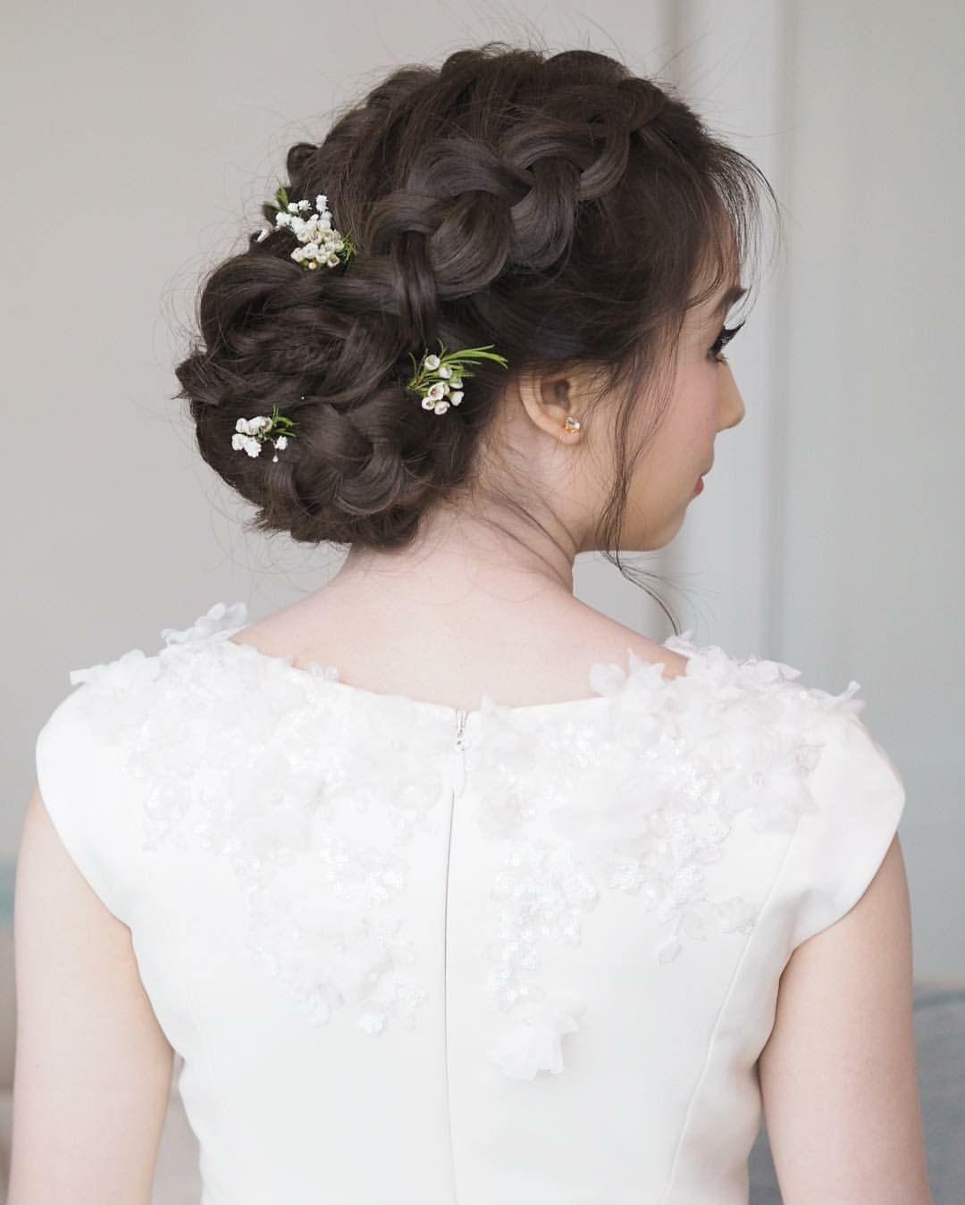 เกล้าผมเจ้าสาว #bridal line : mud2982405 tel. 0972982405 IG ...