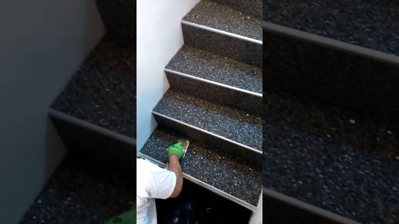 Turbo Der Steinteppich kann fast auf jedem Untergrund aufgebracht werden AY36