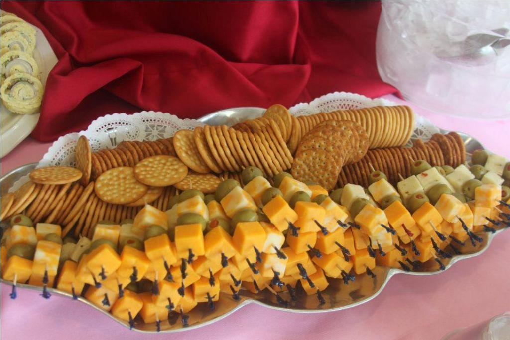 Wedding Finger Food Ideas Reception On A