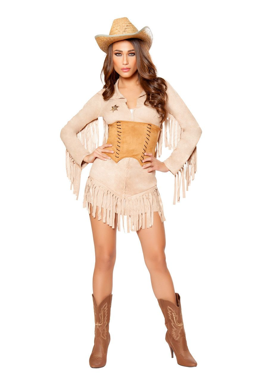 Sexy Roma Brown Tan Wild West Easy Rider Country Girl Cowgirl ...