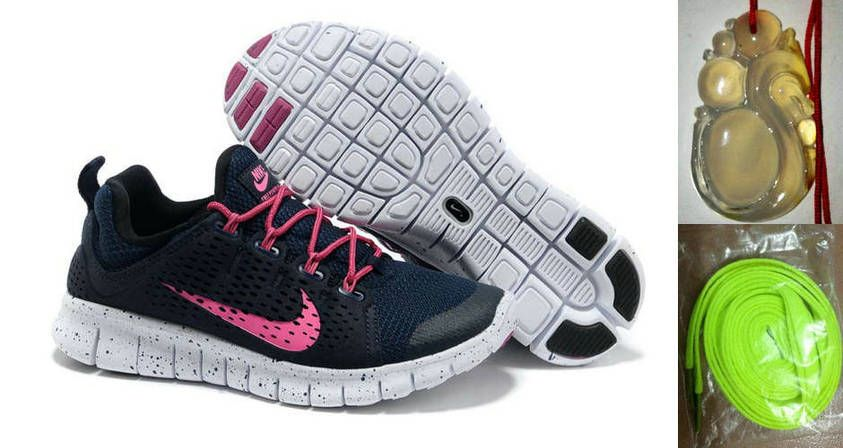 on sale 2c0f0 0058f ... Gray Pink  Chalcedony Dragon Volt Lace Womens Nike Free Powerlines II  Black Pink Shoes ...