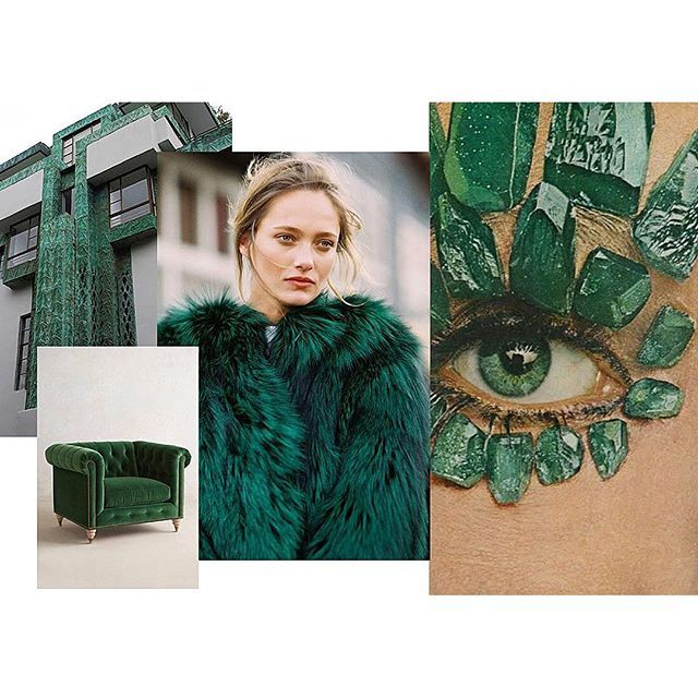 Because I am inspired by all things emerald. New inspiration post up now  [ http://ift.tt/1HCB5as ] by brooketestoni