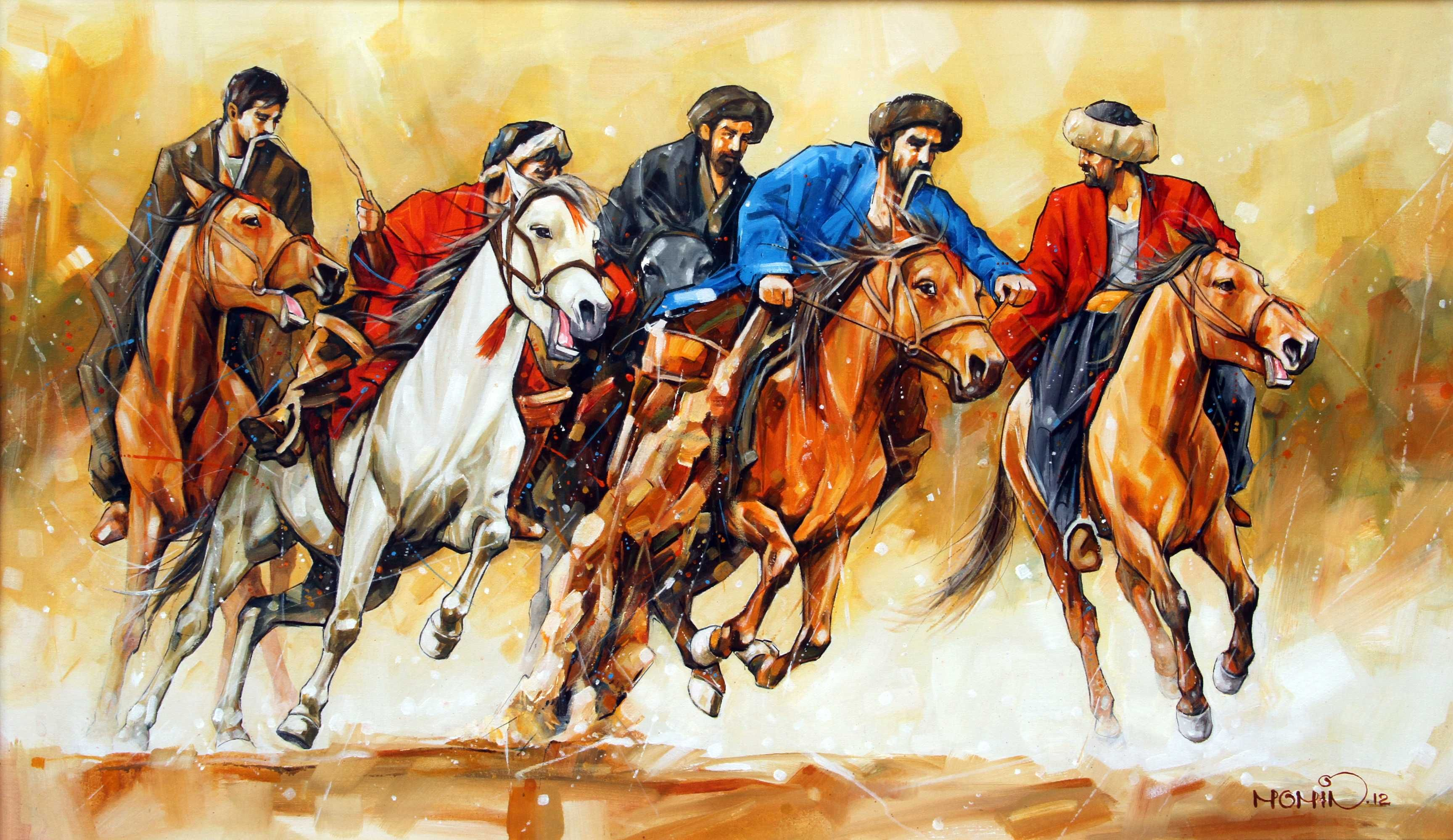 Pakistan Art . Representations Painting