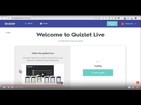 Quizlet Live - Formative Assessment Game - YouTube