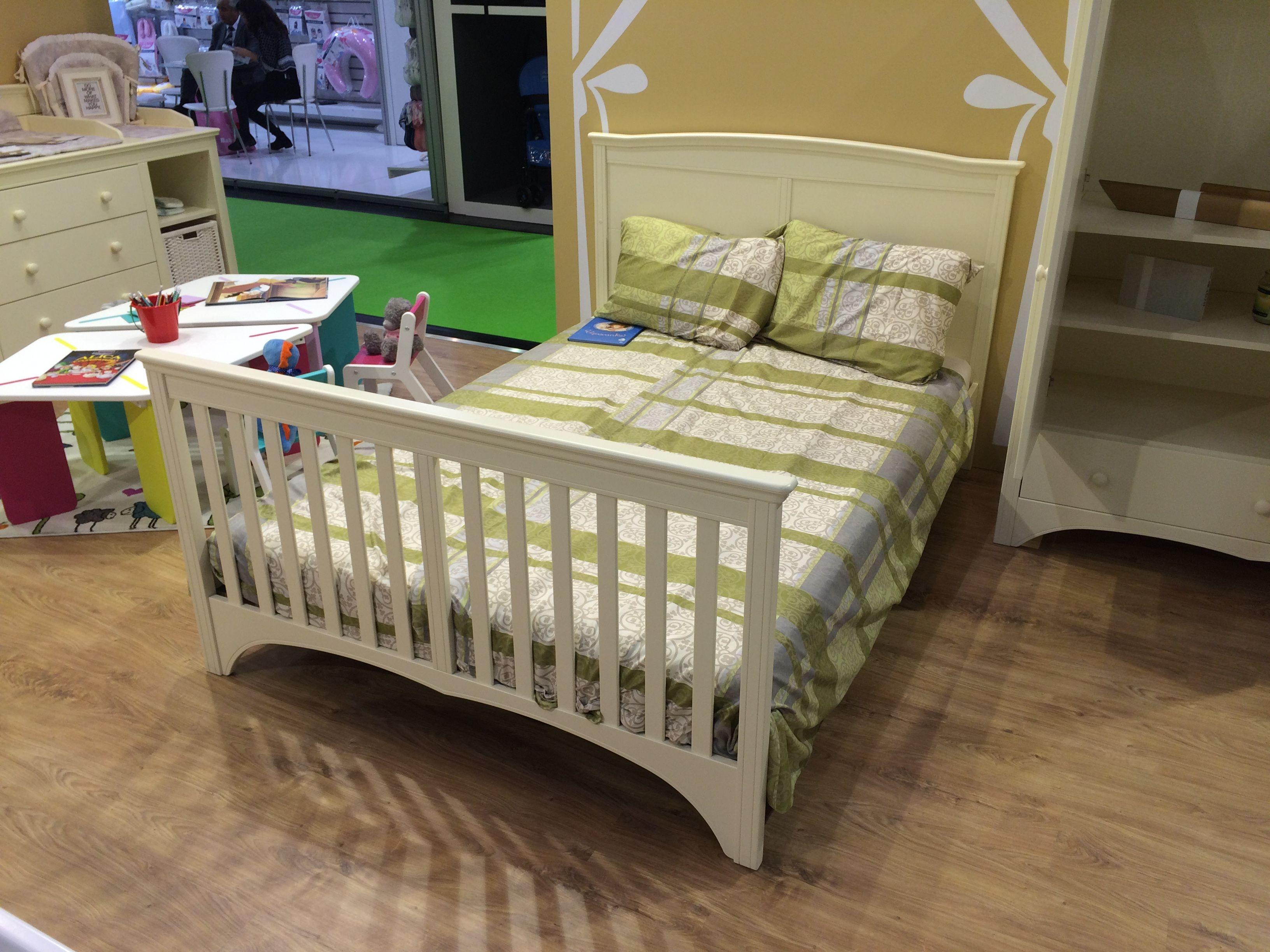 "Kinderbett ""Elisabeth"" ins Bett 140x200cm oder 140x70cm umbaubar"