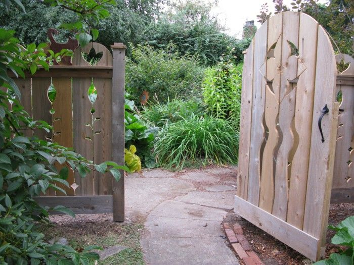Wooden Garden Gates Garden Design Garden Way | Garden Gates