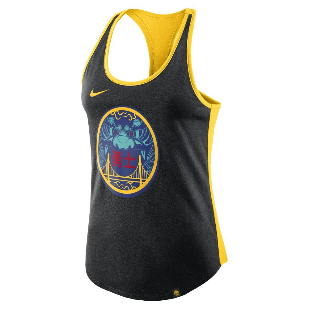 new style f9151 38ecd Golden State Warriors City Edition Nike Dry Women's NBA Tank ...