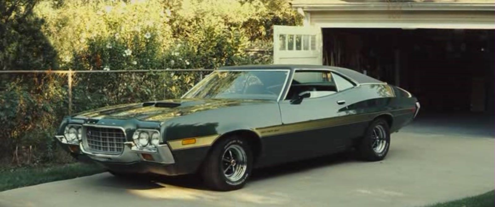 Ford Gran Torino From Grant Torino Cars Movie Famous Movie