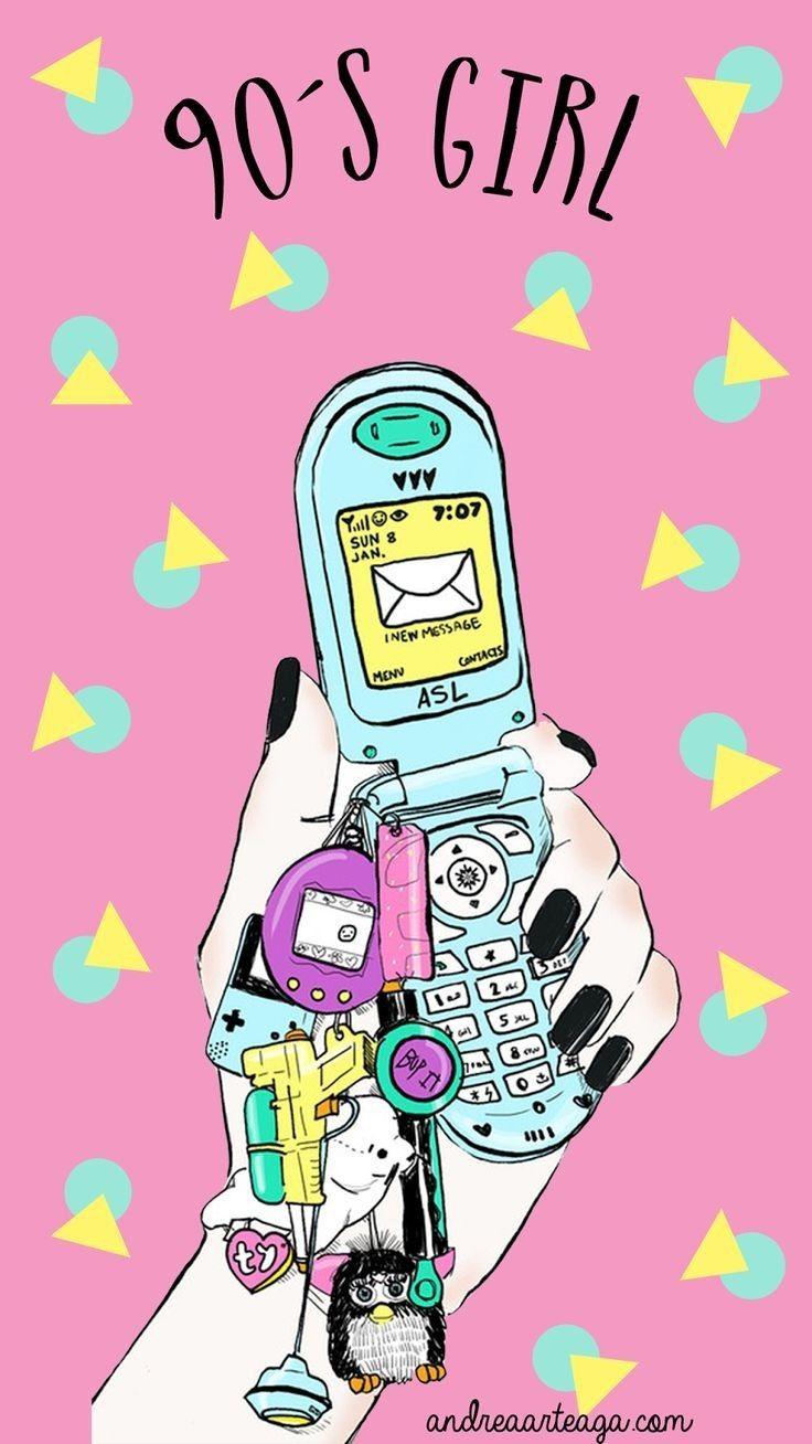 90s girl wallpaper