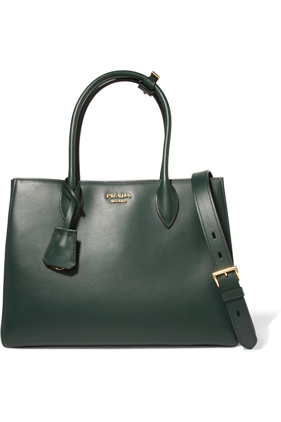 8b528e60c4fd Prada | Bibliothèque medium leather tote | NET-A-PORTER.COM | wish ...