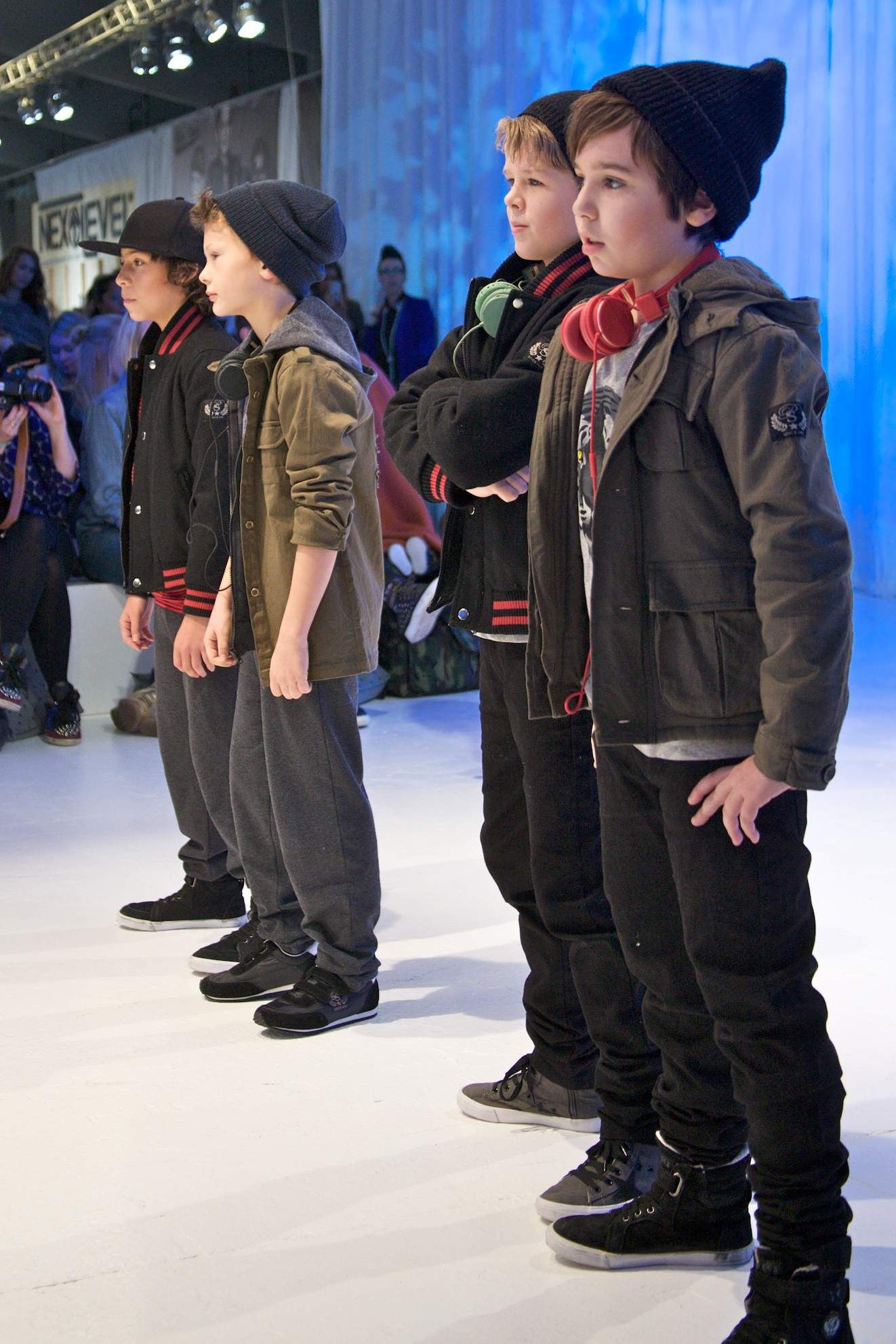 boyswear at petit by sofie schnoor focuses on military details and