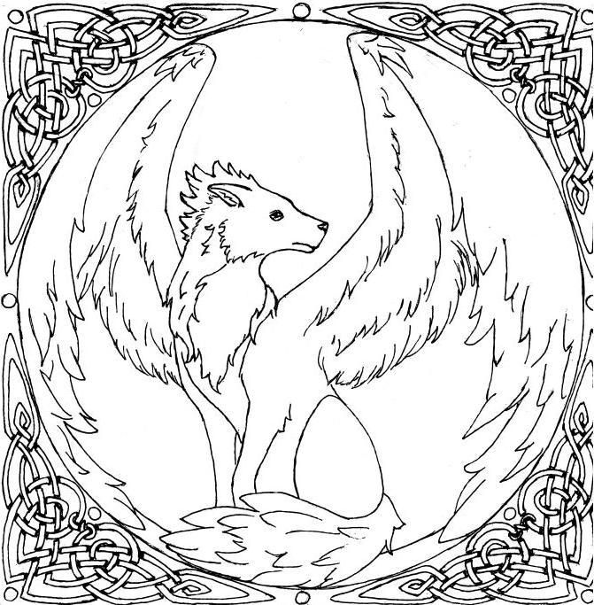 Pin by Heather Mcpherson on Uncolored | Wolf colors, Fox ...