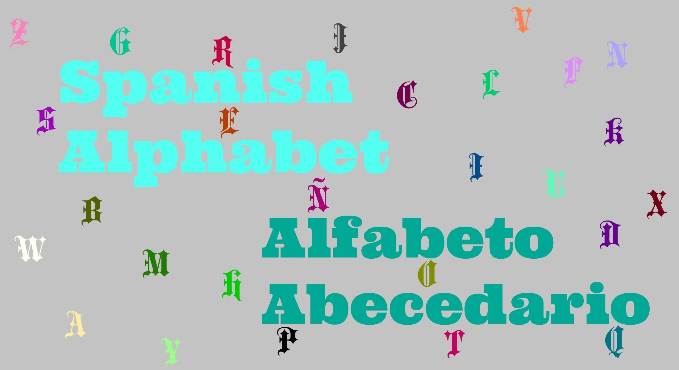 Spanish Alphabet and Vocabulary Spanish alphabet