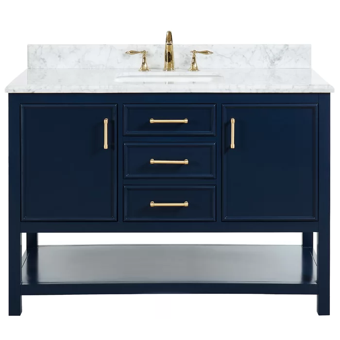 Patrina 49 Single Bathroom Vanity Set In 2020 Single Sink Bathroom Vanity Bathroom Vanity Tops Bathroom Vanity