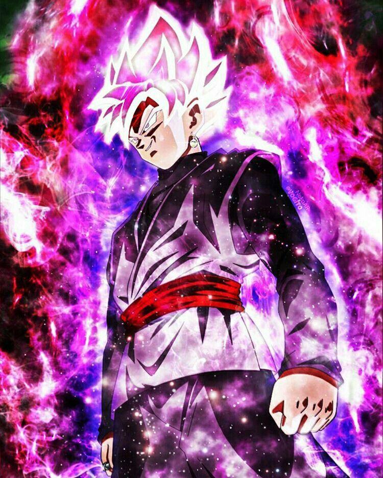 Super Saiyajin Rose Black Goku Dragon Ball Wallpapers Dragon Ball Super Goku Dragon Ball Z