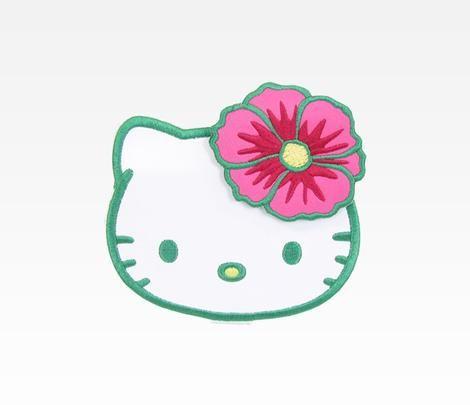 Hello Kitty Die-Cut Mirror: Tropical