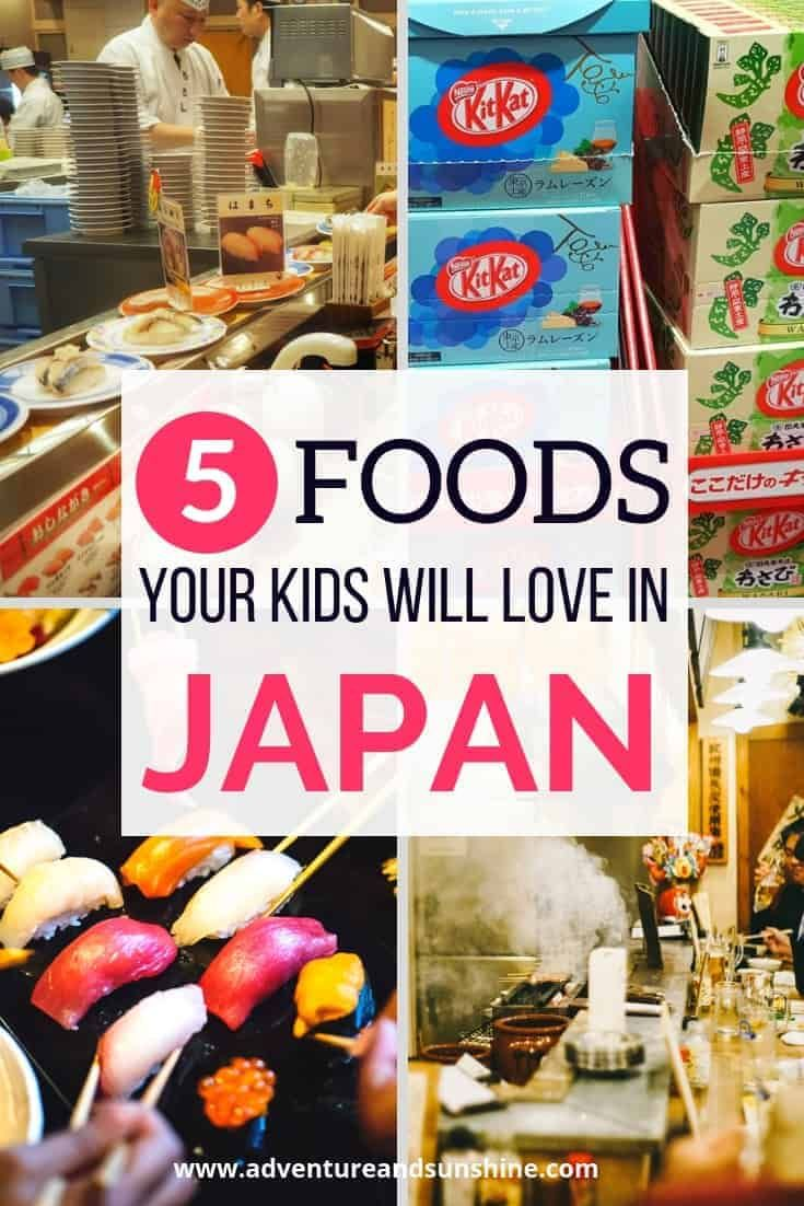 Photo of Food to try in Japan with Kids