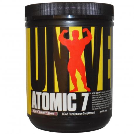 Universal Nutrition, Atomic 7, Cherry, 386 g BCAA