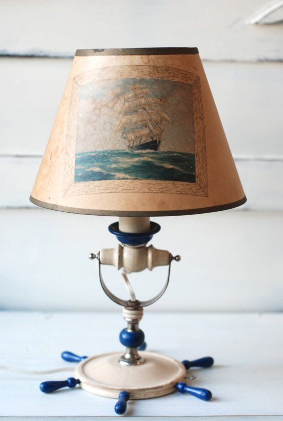 Vintage Nautical Lamp