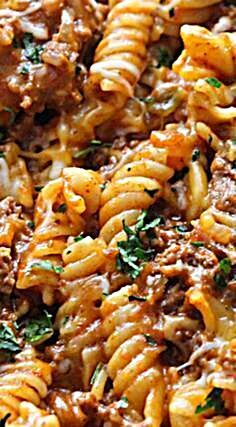 The flavors of tacos combined with pasta makes for a delicious meal that's great for busy weeknights...