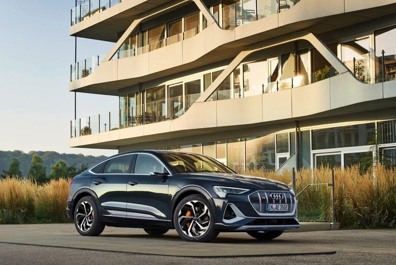 Audi e-tron Sportback S Line. Jetzt mal Hand aufs Herz: Wie findet ihr das Design des SUV-Coupes g