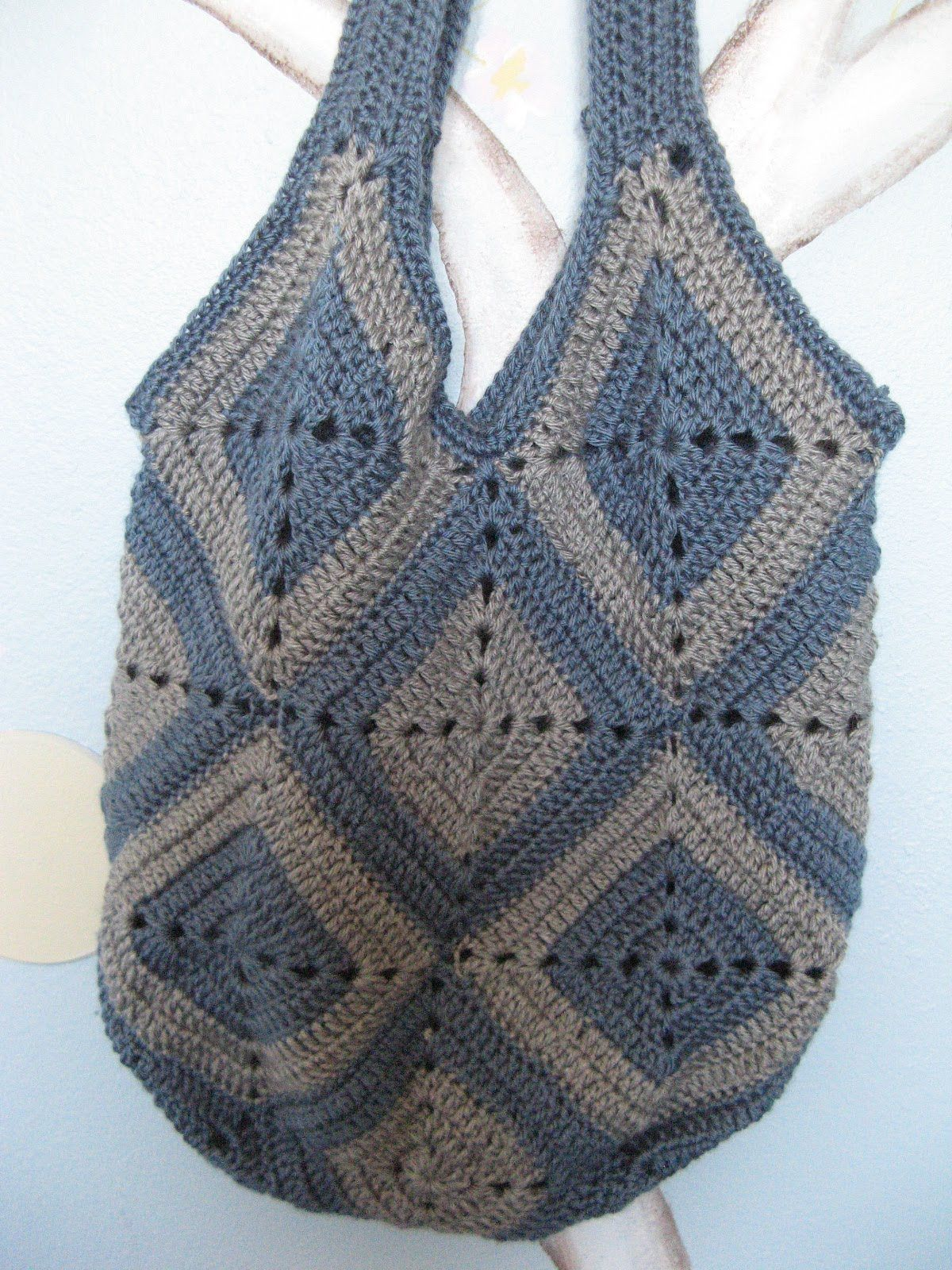 This Is A Video Tutorial For Ingas Crochet Bag When I First Saw