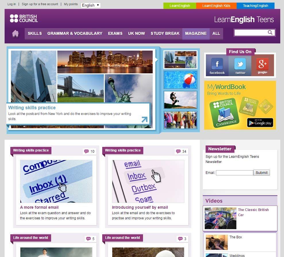 20 útiles Webs Para Aprender Inglés En Secundaria Educación 3 0 Juegos Para Aprender Ingles Aprender Inglés Inglés Para Secundaria