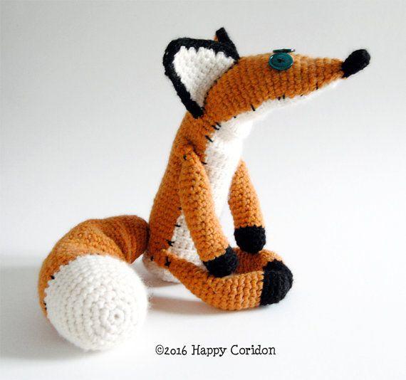 Little Fox Amigurumi : The Little Prince Fox amigurumi crochet pattern ?? ...