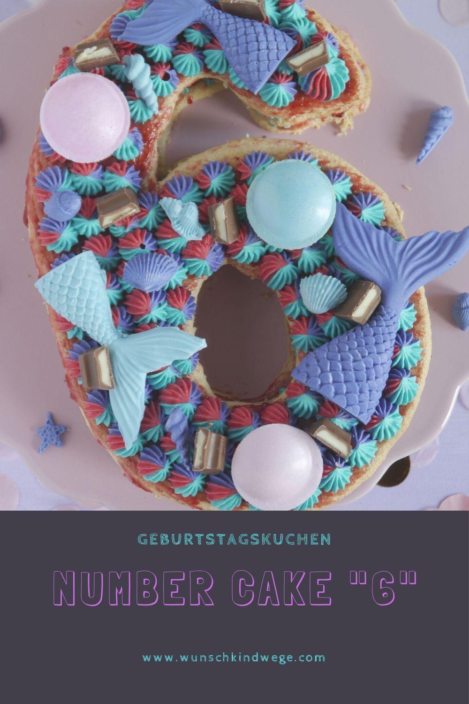 Number Cake 6 Geburtstagstorte Mit Meerjungfrauen In 2020 Kindergeburtstag Kuchen Madchen Torte Kindergeburtstag Junge Geburtstagstorte