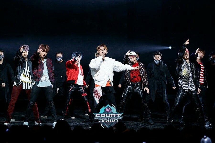 BTS At MCOUNTDOWN (170223) ❤ #BTS #방탄소년단