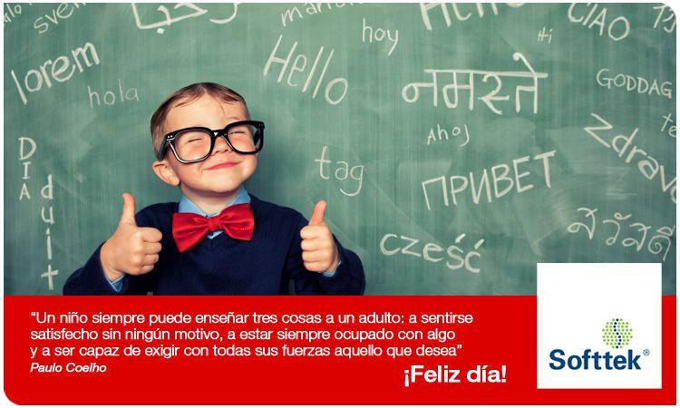 ¡Feliz día del niño! Hablar en publico, Segundo idioma