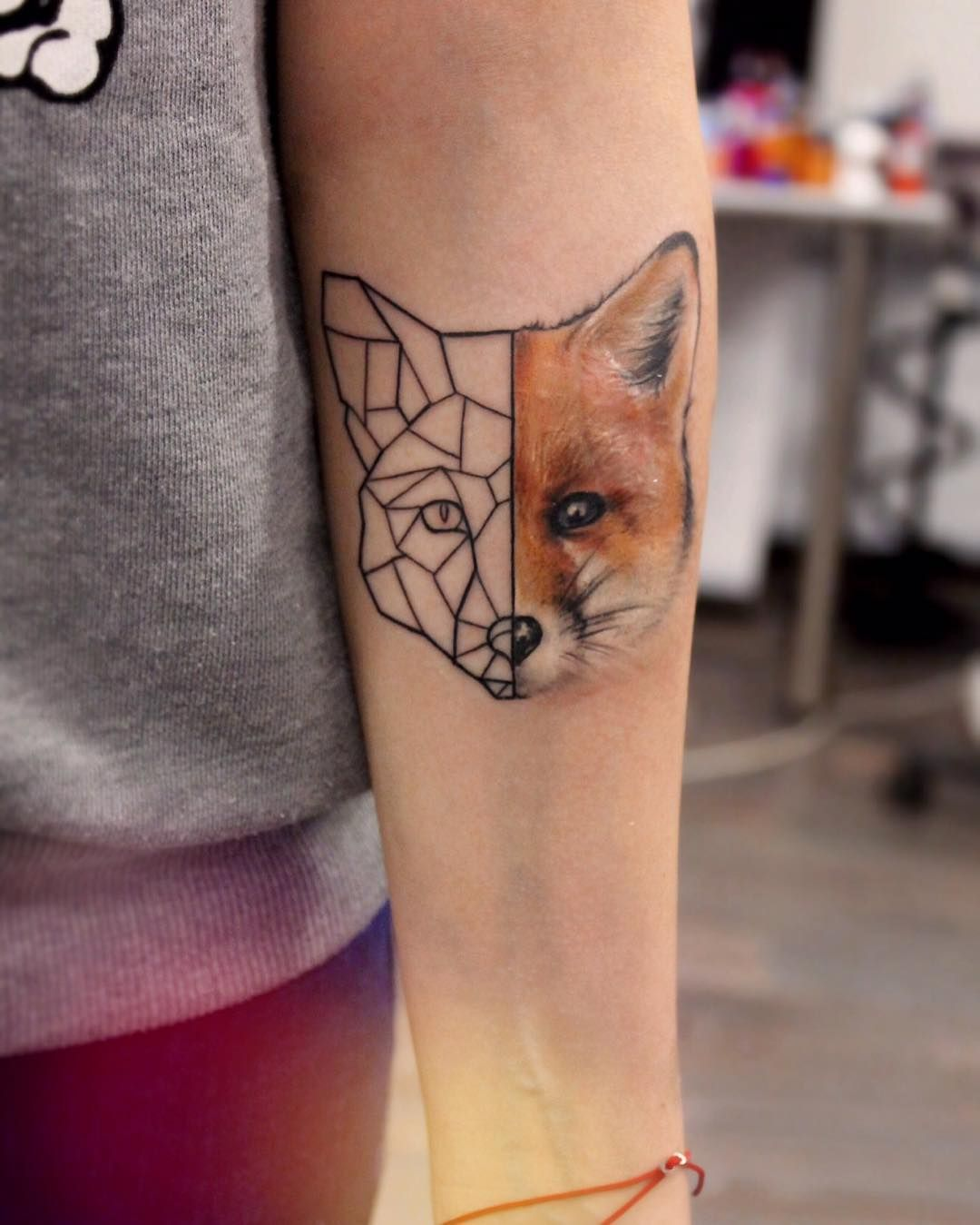 23 Geometric Tattoos Ideas Geometric Tattoo Arm Tattoo Fox Tattoo