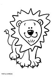 Disegni Di Animali Da Stampare E Colorare Gratis Portale Bambini Disegnare Animali Disegni Da Colorare Disegno Leone