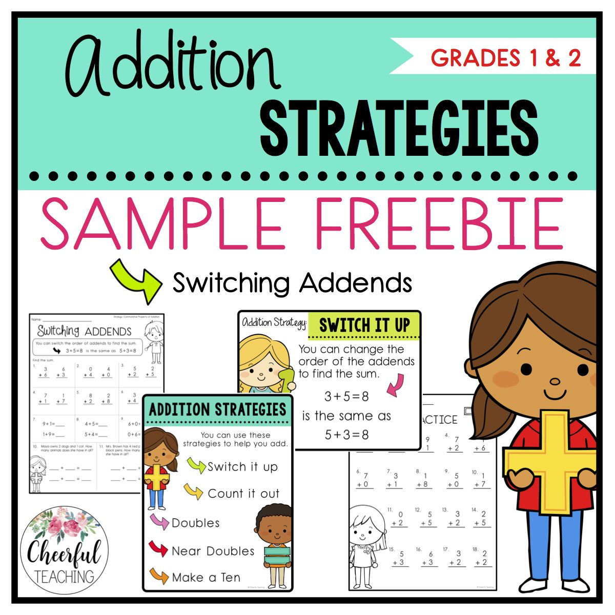 Addition Strategies Freebie